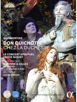 Joseph Bodin De Boismortier - Don Quichotte Chez La Duchesse