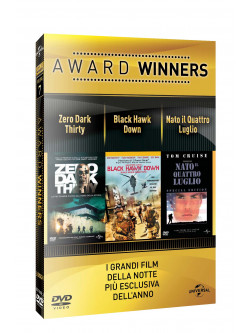 Zero Dark Thirty / Black Hawk Dawn / Nato Il 4 Luglio - Oscar Collection (3 Dvd)
