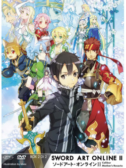 Sword Art Online II - Box 02 (Eps 15-24) (Ltd) (2 Dvd+Cd)