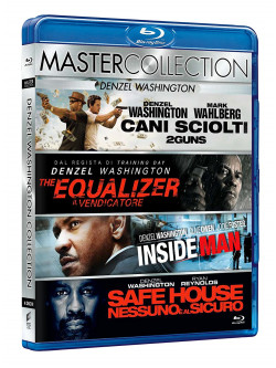 Denzel Washington Master Collection (4 Blu-Ray)