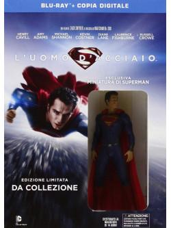 Uomo D'Acciaio (L') (SE) (Blu-Ray+Figurina)