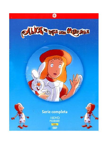 Alice Nel Paese Delle Meraviglie - Serie Completa (10 Dvd)