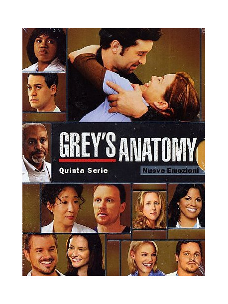 Grey's Anatomy - Stagione 05 (7 Dvd)