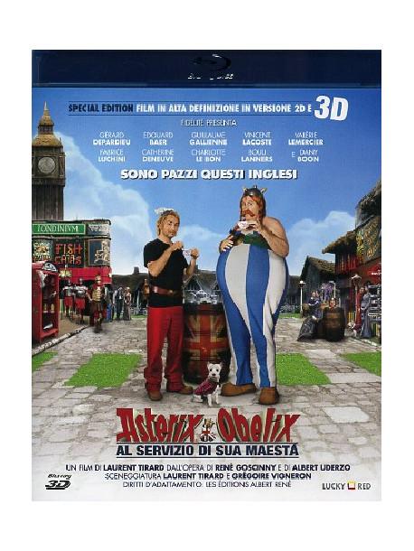 Asterix E Obelix Al Servizio Di Sua Maesta' (Blu-Ray 3D)