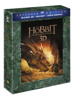 Hobbit (Lo) - La Desolazione Di Smaug (3D) (Extended Edition) (2 Blu-Ray 3D+3 Blu-Ray)