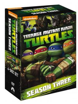Teenage Mutant Ninja Turtles - Stagione 03 (4 Dvd)