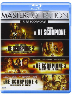 Re Scorpione Quadrilogia (4 Blu-Ray)