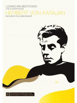 Beethoven - Le Nove Sinfonie - Herbert Von Karajan (3 Dvd)