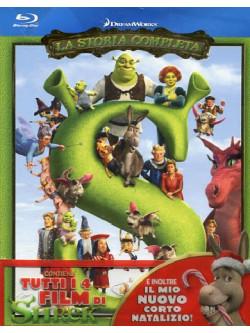 Shrek - La Storia Completa (4 Blu-Ray)
