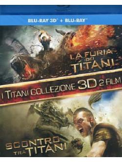 Furia Dei Titani (La) / Scontro Tra Titani (2 Blu-Ray+2 Blu-Ray 3D)