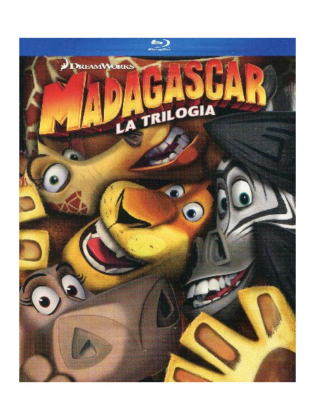 Madagascar - The Complete Collection (3 Blu-Ray)