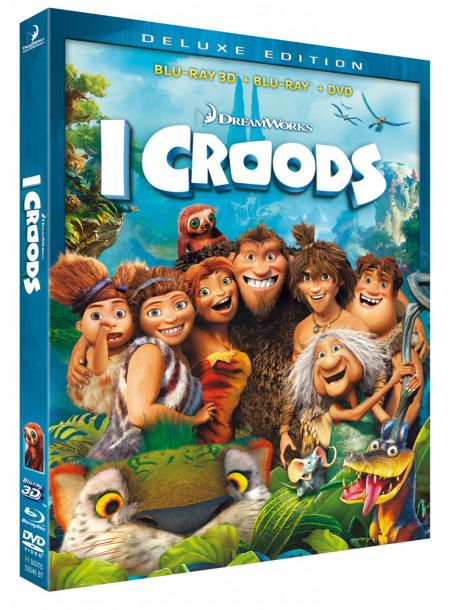 Croods (I) (3D) (Blu-Ray+Blu-Ray 3D+Dvd)