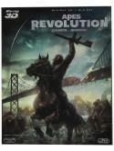 Apes Revolution - Il Pianeta Delle Scimmie (3D) (Blu-Ray 3D+Blu-Ray)