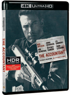 Accountant (The) (Blu-Ray 4K Ultra HD+Blu-Ray)