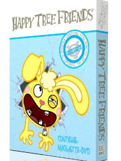 Happy Tree Friends 01 (Dvd + T-Shirt Uomo)