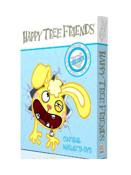 Happy Tree Friends 01 (Dvd + T-Shirt Uomo)
