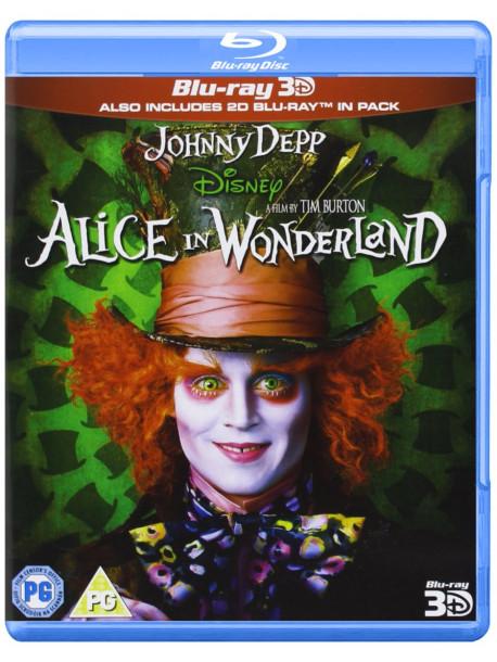 Alice In Wonderland Blu Ray 3D [Edizione: Regno Unito]