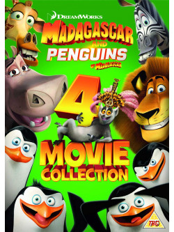 Madagascar 1-3/Penguins Of Madagascar (4 Movie Collection) [Edizione: Regno Unito]