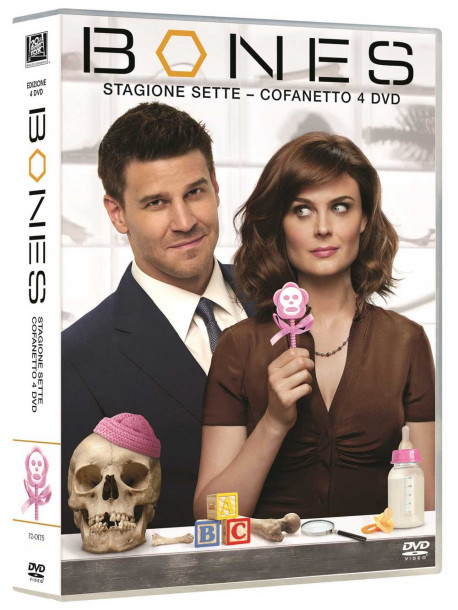 Bones - Stagione 07 (4 Dvd)