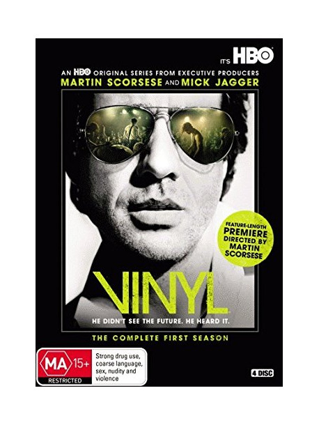 Vinyl - Stagione 01 (4 Dvd)