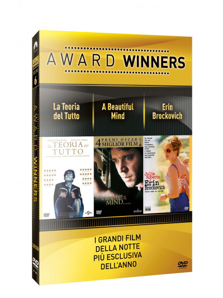 Teoria Del Tutto (La) / Beautiful Mind (A) / Erin Brockovich - Oscar Collection (3 Dvd)