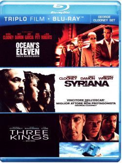 George Clooney Set (3 Blu-Ray)
