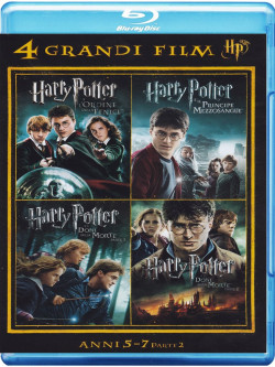 Harry Potter - 4 Grandi Film 02 (4 Blu-Ray)