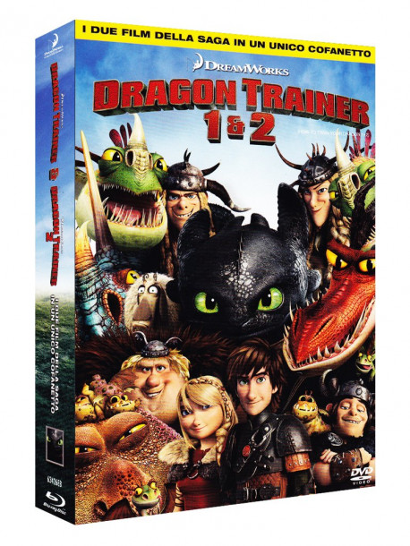 Dragon Trainer / Dragon Trainer 2 (2 Blu-Ray)