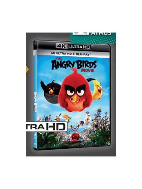 Angry Birds - Il Film (Blu-Ray 4K Ultra HD+Blu-Ray)