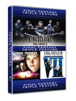 Final Fantasy - 3 Movie Collection (3 Dvd)