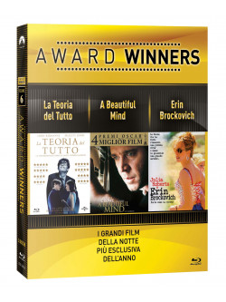 Teoria Del Tutto (La) / Beautiful Mind (A) / Erin Brockovich - Oscar Collection (3 Blu-Ray)