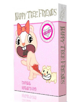 Happy Tree Friends 03 (Dvd + T-Shirt Donna)
