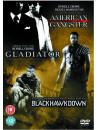American Gangster / Gladiator / Black Hawk Down (3 Dvd) [Edizione: Regno Unito]