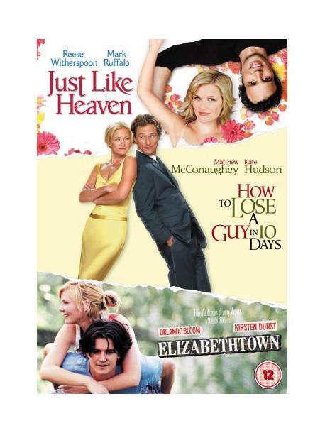 Elizabethtown / Just Like Heaven / How To Lose A Guy In 10 Days (3 Dvd) [Edizione: Regno Unito]