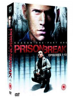 Prison Break - Season 1 - Eps 1-13 (4 Dvd) [Edizione: Regno Unito]