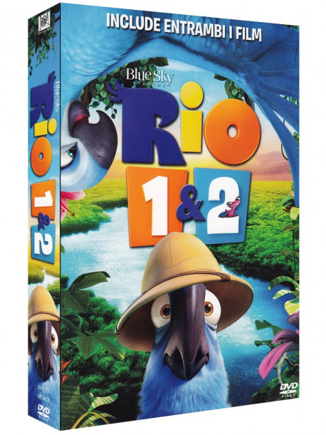Rio / Rio 2 - Missione Amazzonia (2 Dvd)