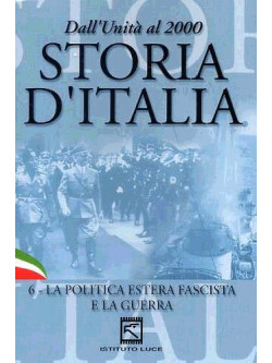 Storia D'Italia 06 - La Politica Estera Fascista E La Guerra