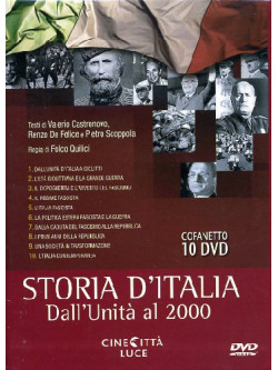 Storia D'Italia - Dall'Unita' Al 2000 (10 Dvd)