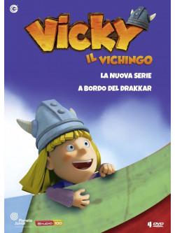 Vicky Il Vichingo - La Nuova Serie 01-04 - A Bordo Del Drakkar (4 Dvd)