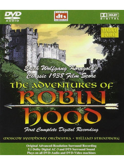 Korngold - Adventures Of Robin Hood (The) (Dvd Audio)