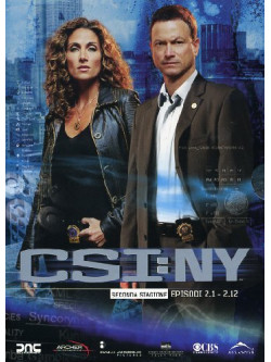 C.S.I. New York - Stagione 02 01 (Eps 01-12) (3 Dvd)