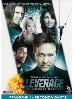 Leverage - Stagione 01 02 (2 Dvd)
