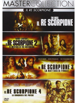 Re Scorpione Quadrilogia (4 Dvd)