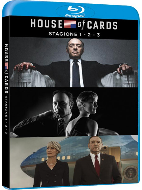 House Of Cards - Stagione 01-03 (12 Blu-Ray)