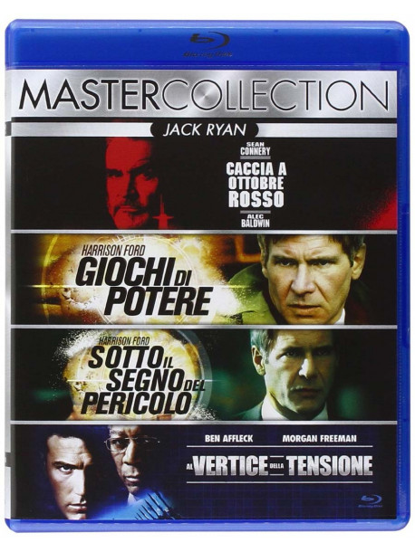 Jack Ryan Quadrilogia (4 Blu-Ray)