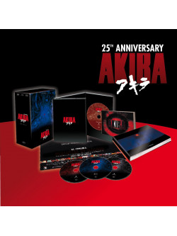 Akira 25th Anniversary Limited Edition Box (Blu-Ray+Dvd+Cd+Libro)