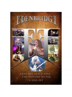 Edenbridge - A Decade And A Half - The History So Far (6 Dvd)