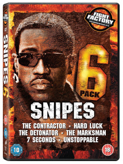 Wesley Snipes 6 Pack - The Contractor / Hard Luck / The Detonator / The Marksman / 7 Seconds / Unstoppable (6 Dvd) [Edizione: Re