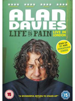 Alan Davies - Life Is Pain - Live In [Edizione: Regno Unito]