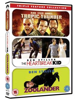Tropic Thunder / Zoolander / Heartbreak Kid (3 Dvd) [Edizione: Regno Unito]
